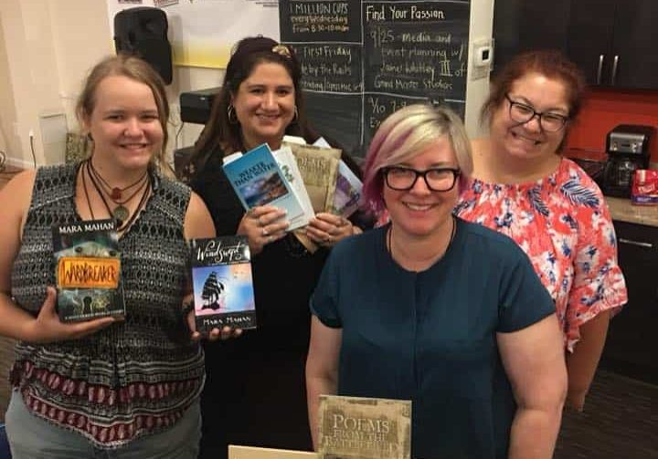 WbtR Authors First Friday Manassas Festival Event